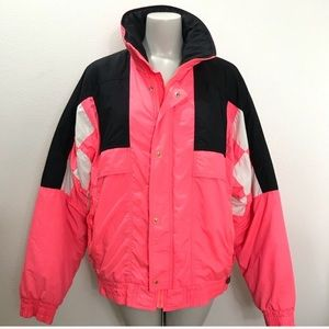 VINTAGE Hot Pink Ski Snowboard Jacket
